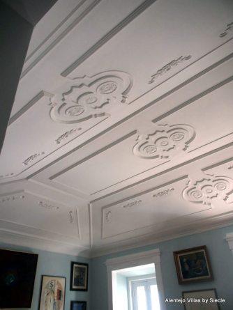 Plafond salle séjour